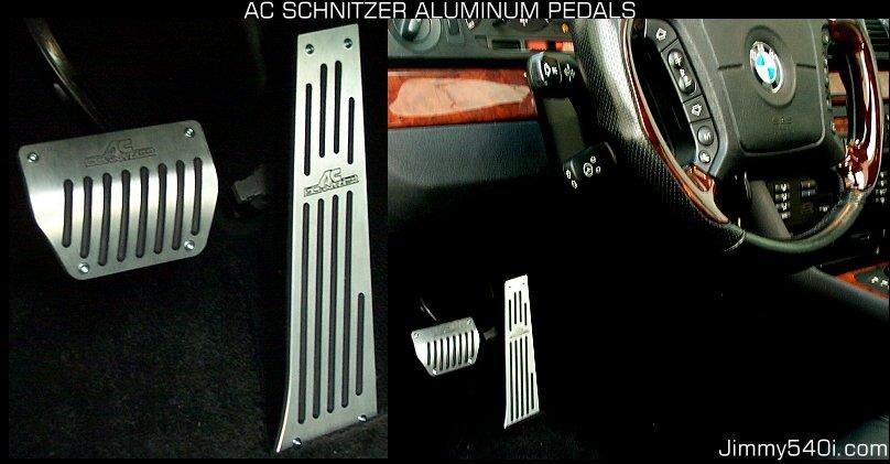 Ac Schnitzer Aluminum Pedals