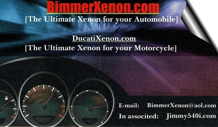 Xenon Lights for your Automobile!