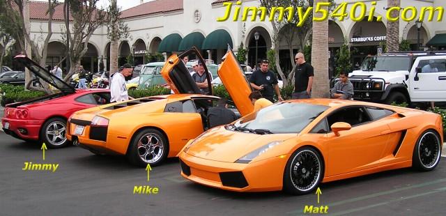My Ferrari 360 Modena Teamed Up With My Brotheru0027s Mikeu0027s Lamborghini  Murcielago And Mattu0027s Lamborghini Gallardo At Crystal Cove At Newport  Beach, ...