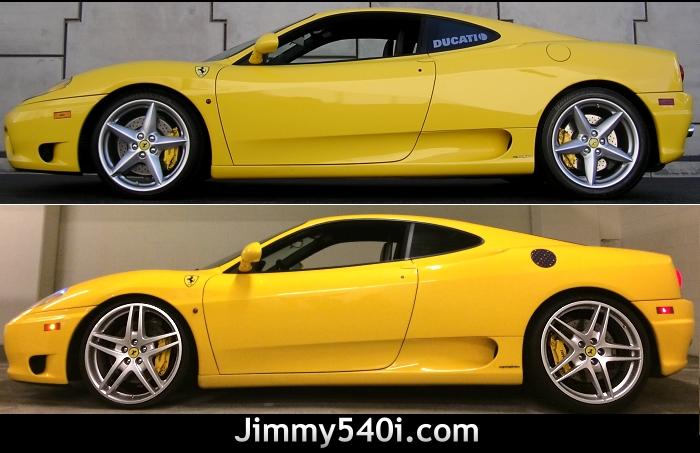 Ferrari Oem 19 Wheels Tires For Ferrari 360 Modena 360 Spider Www Jimmy540i Com Ferrari F430 Wheels On 360 Modena Spider Rims Tires