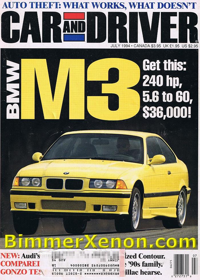Article  First E36       M3  1994 Car  U0026 Driver Magazine