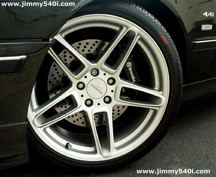 Will The 18 Quot X 8 Quot Wheels Fit On The 14 Quot Brembo Brakes E39
