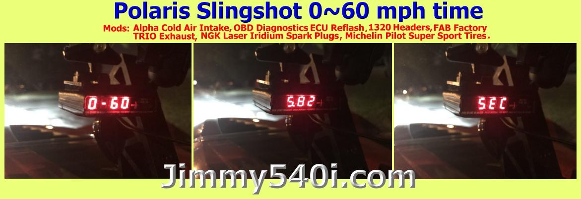 Polaris Slingshot 0 60 >> ~( Pic ) ~ My 0~60 mph time on G-Tech Performance Meter ...
