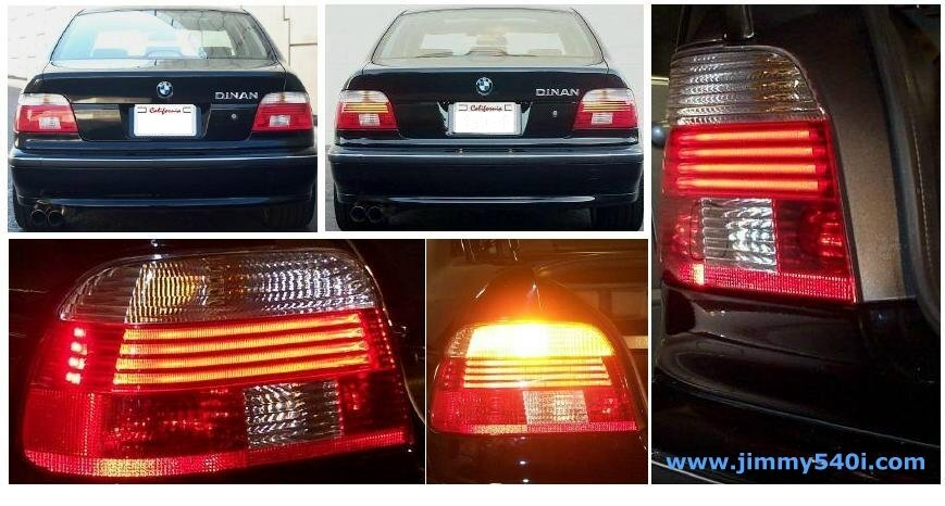 Bmw 540i Rear Led Tail Lights 1