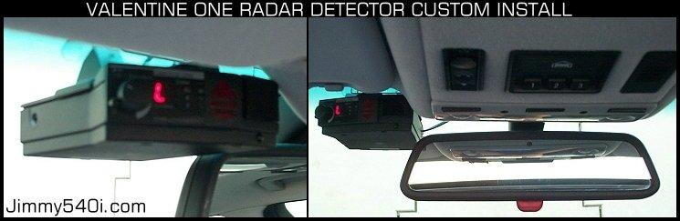 Valentine One Radar Detector Custom Install