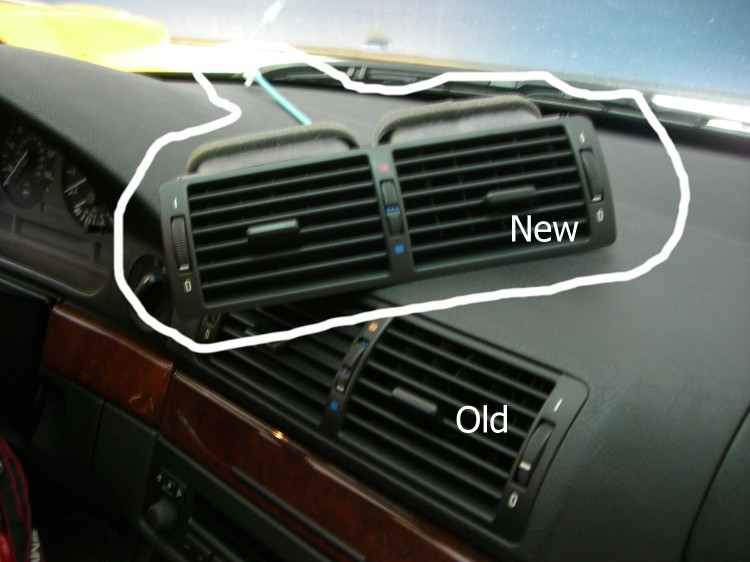 E39 96 03 Want To Buy Wtb Center Air Vent Front Bmw
