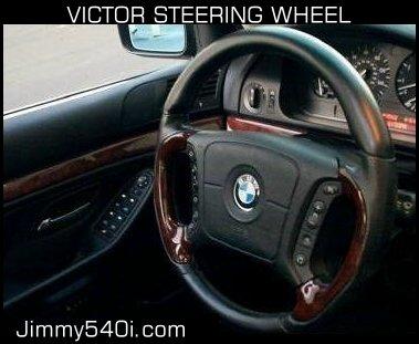 Victor Steering Wheel Side View 3
