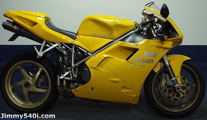 YELLOW DUCATI 996 SUPERBIKE @ (www.Jimmy540i.com)